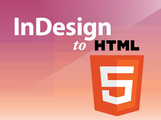 InDesign to HTML5