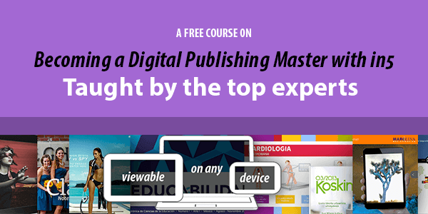 free digital publishing course taught by the experts