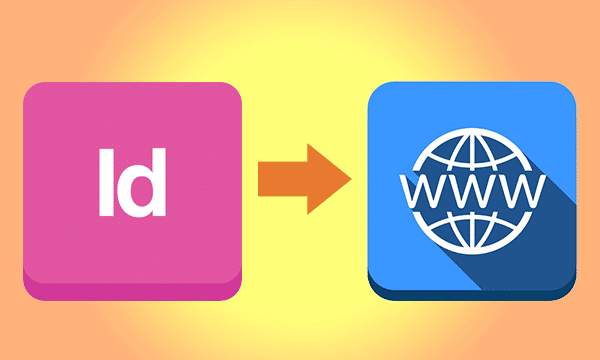 indesign to your own webserver
