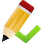 can edit - pencil with green checkmark