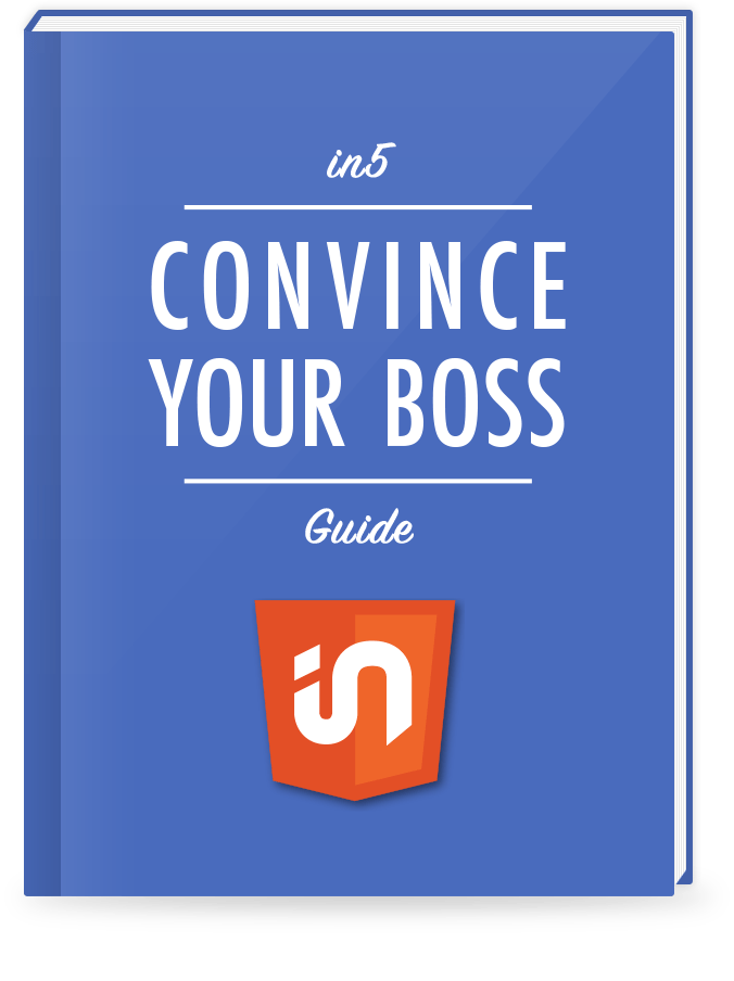 in5 Convince Your Boss guide cover