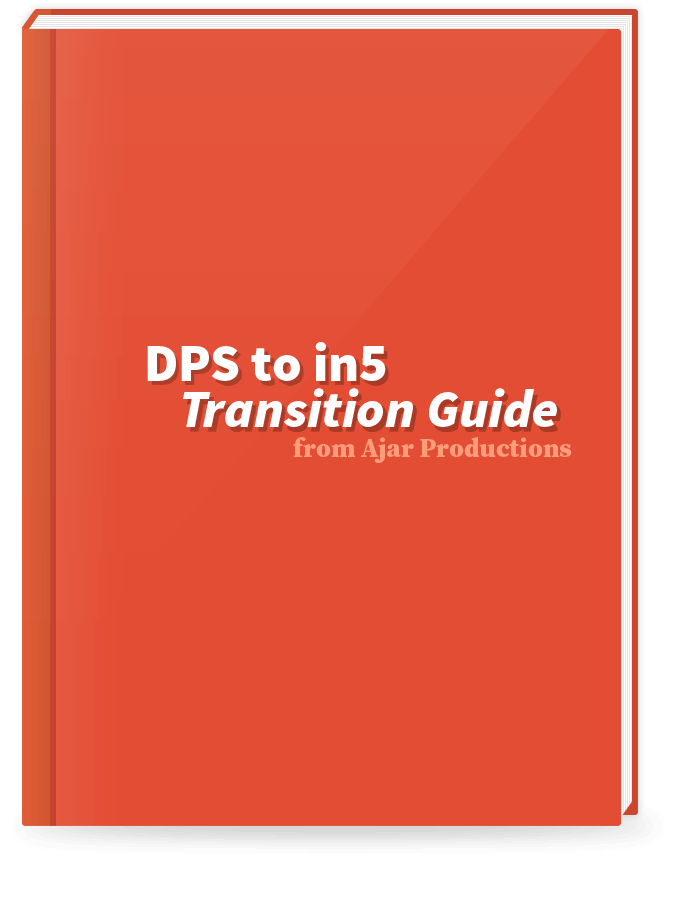 dps (aem mobile) to in5 transition guide
